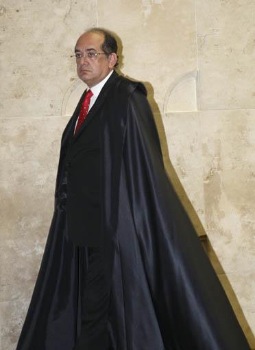 Presidente do STF, min. Gilmar Mendes, em sess‹o plen‡ria. Foto: Gil Ferreira/SCO/STF (18/09/2008)